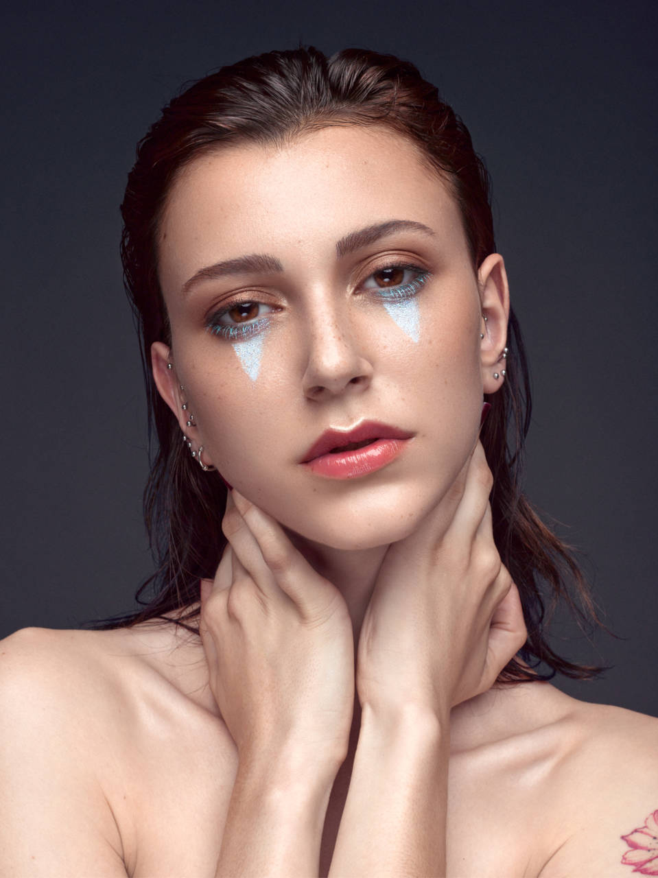 Model: Nina Luxereau MUA: Julie Hoyez