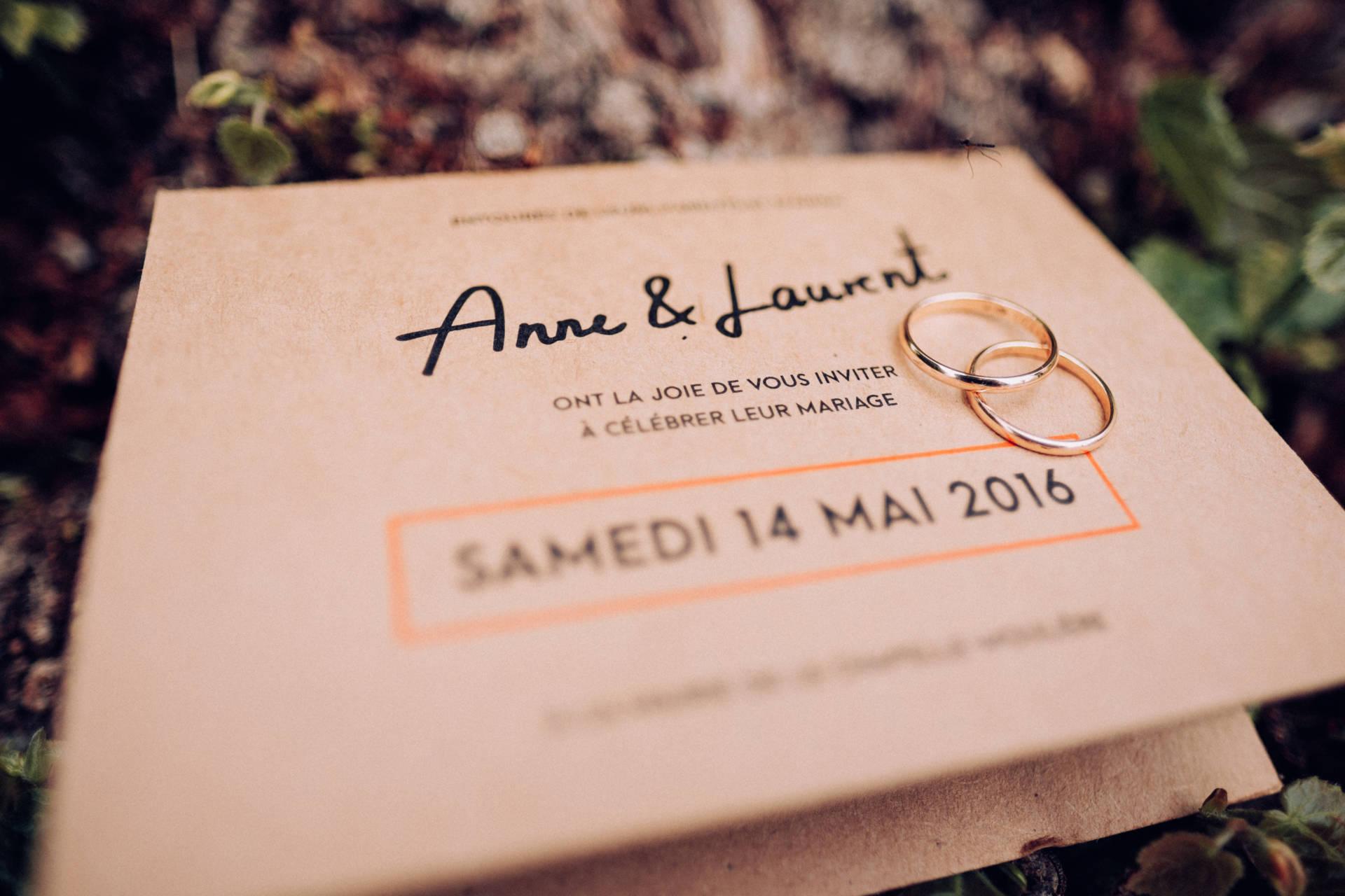 Couverture Mariage Anne & Laurent