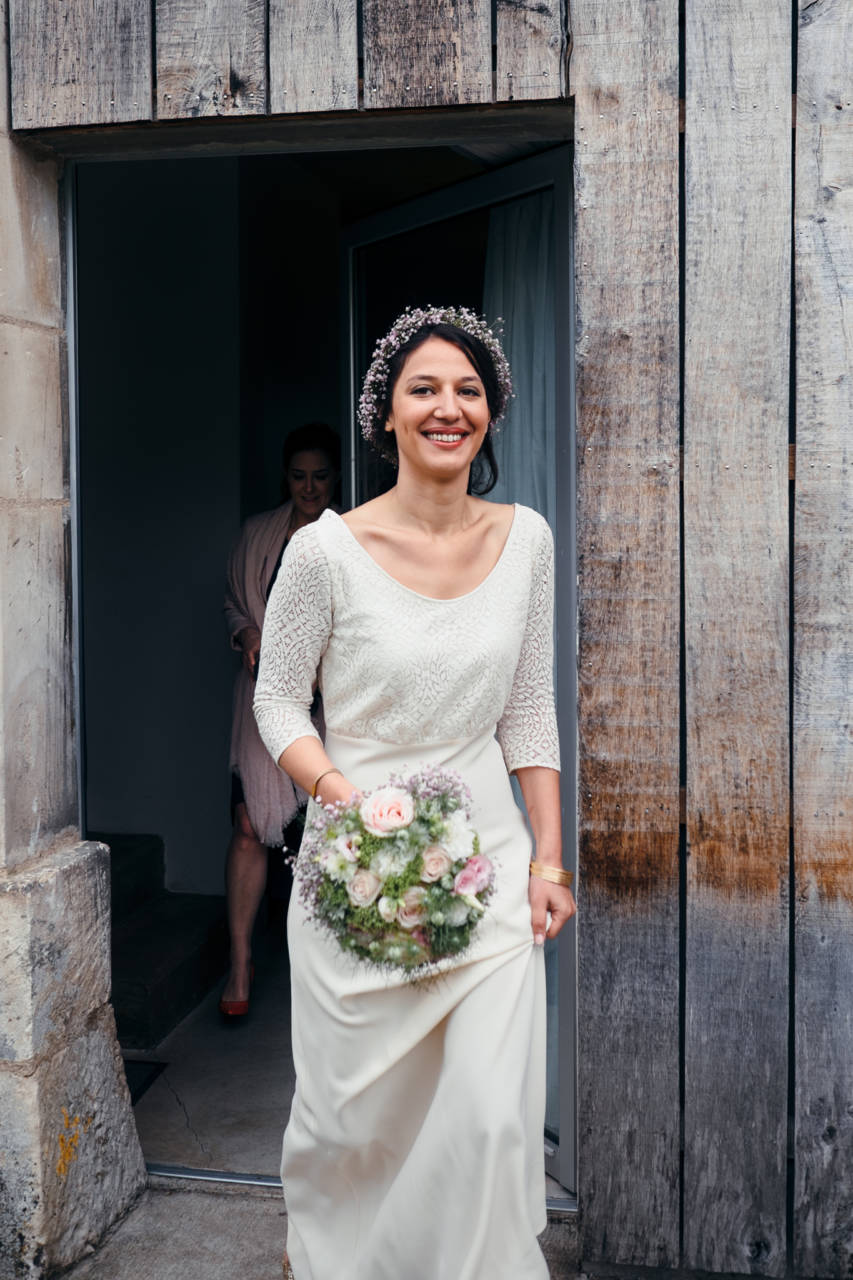Reportage mariage : préparation Mariée