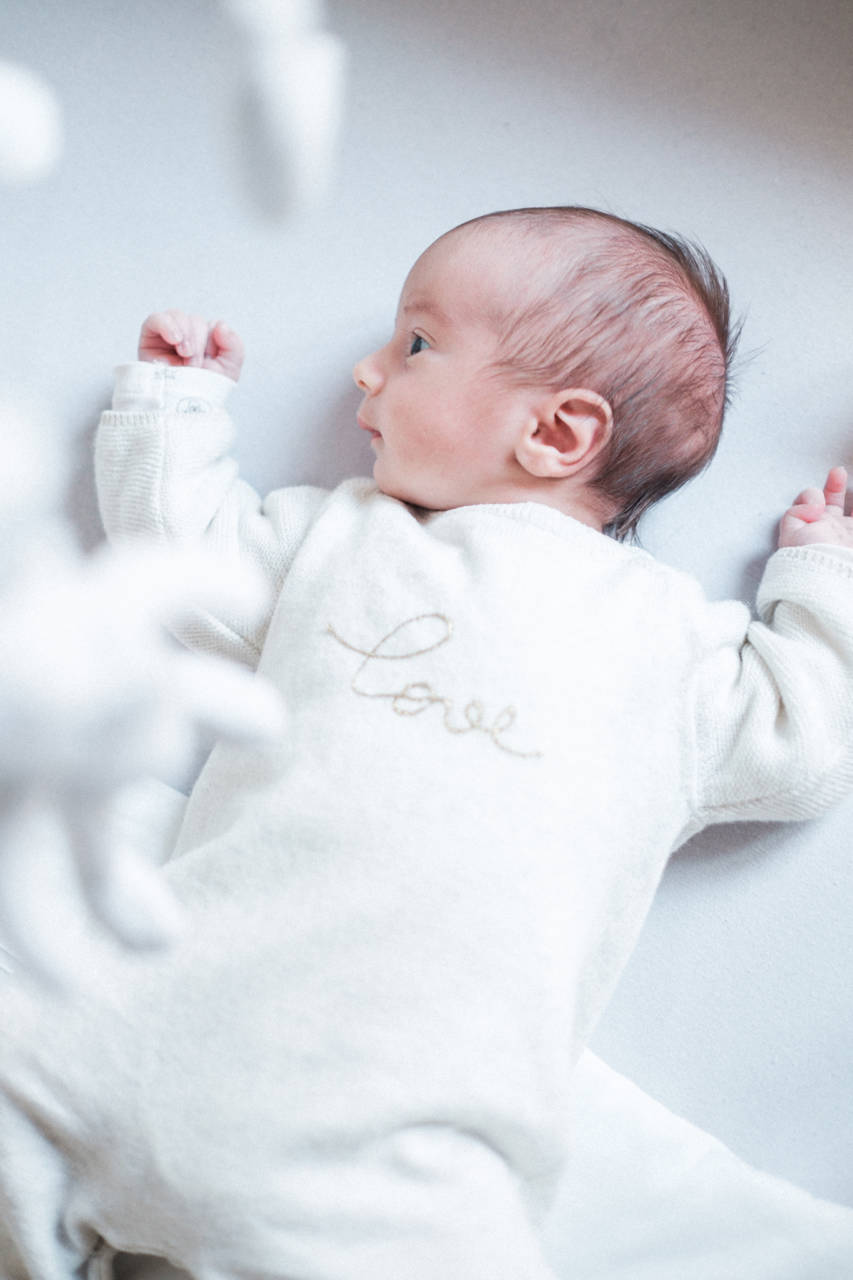 Newborn session with Hugo